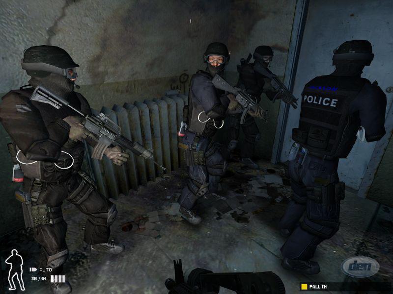 Компания. объявила о выходе полицейского боевика SWAT 4. Основные задачи но